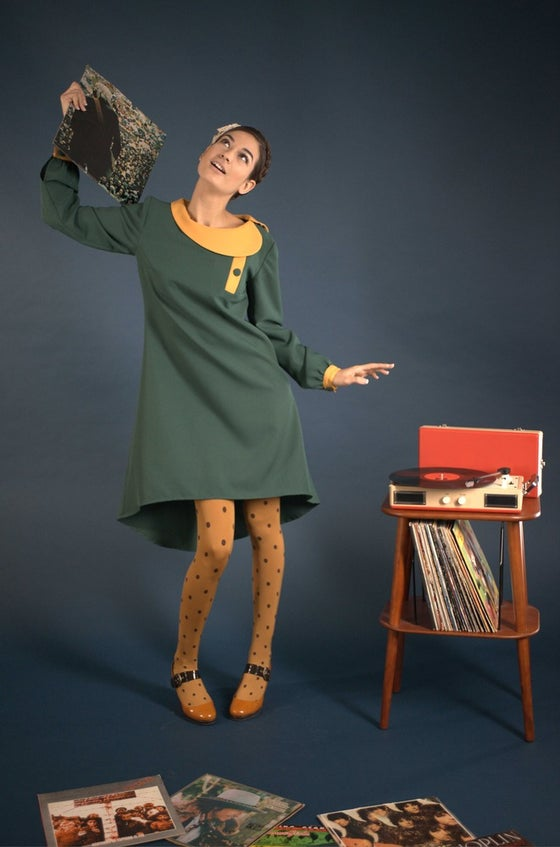 Image of MissSotoka, Lisbon collection, green dress