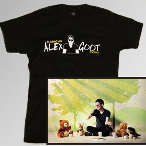 Image of 2012 LIMITED EDITION Tour tee + Poster COMBO