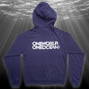 Image of Deep Blue Hoodie, Organic (navy)