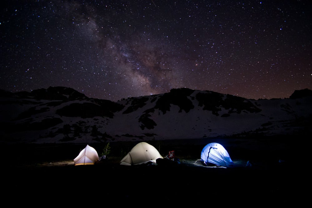 Image of Tents & Stars - 16x24 canvas print