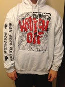 Image of Collage Hoodie - Red