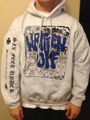 Image of Collage Hoodie - Blue