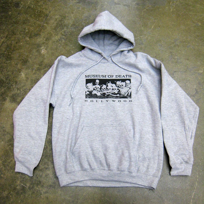 Image of Bed of Skulls Hollywood - Grey Hoodie