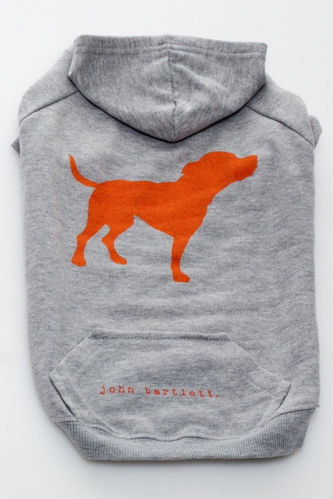 Image of tiny tim heather grey signature dog hoodie