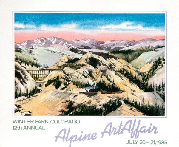 Image of Alpine Art Affair, Winter Park Poster