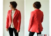 Image of Boa Jacket - Coral