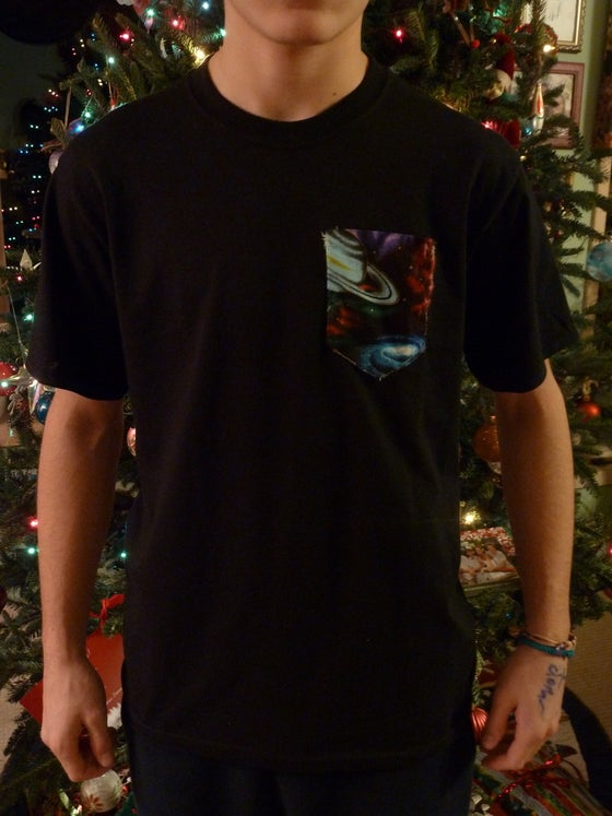 Image of Galaxy pocket tee