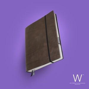 Image of Whitebook Soft S205, cut vintage leather, brown, 240p. (fits iPad / Air / Mini / Samsung)