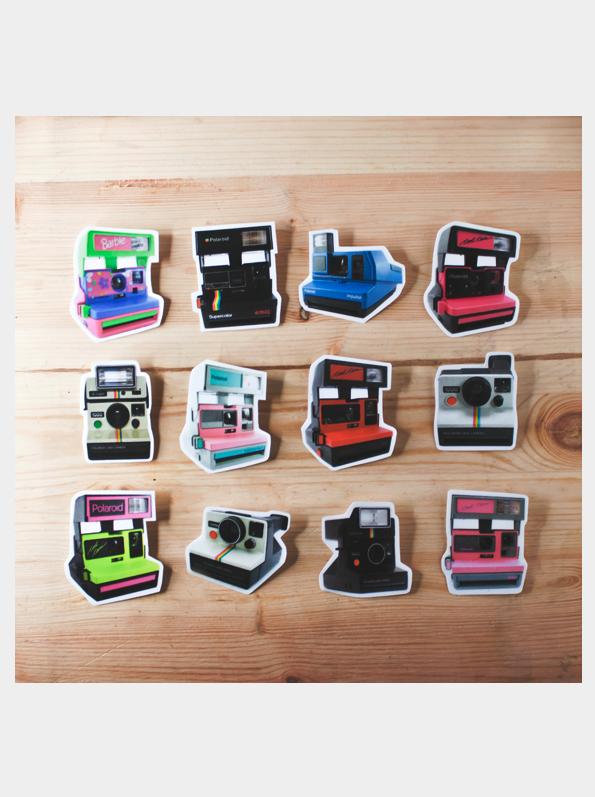 Image of Polaroid Pins
