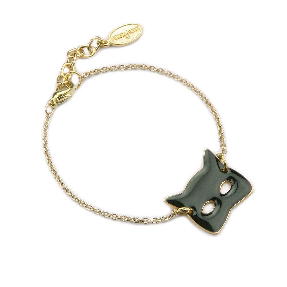 Bracelet masque chat - Félicie Aussi