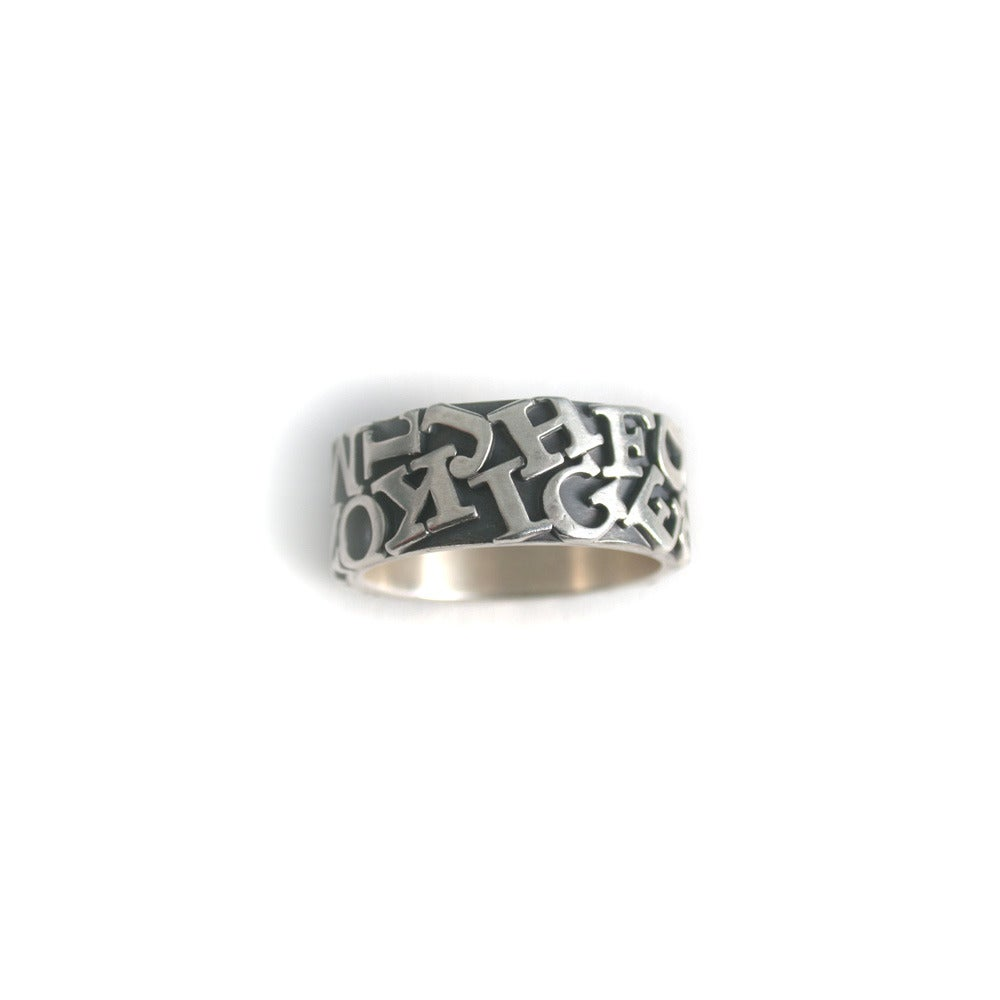 Image of alphabet ring