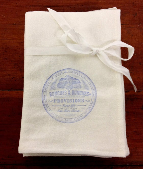 Image of 100% Cotton Flour Sack Towels from Bunches & Bunches - Provisions