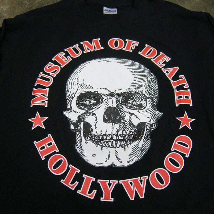 Image of Museum of Death Logo - Long Sleeve (Black)