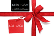 Image of Deen + Gray E-Gift Certificate
