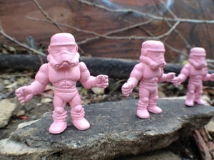 Image of D.E.A.T.H. Troopers-3 pack in muscle pink.