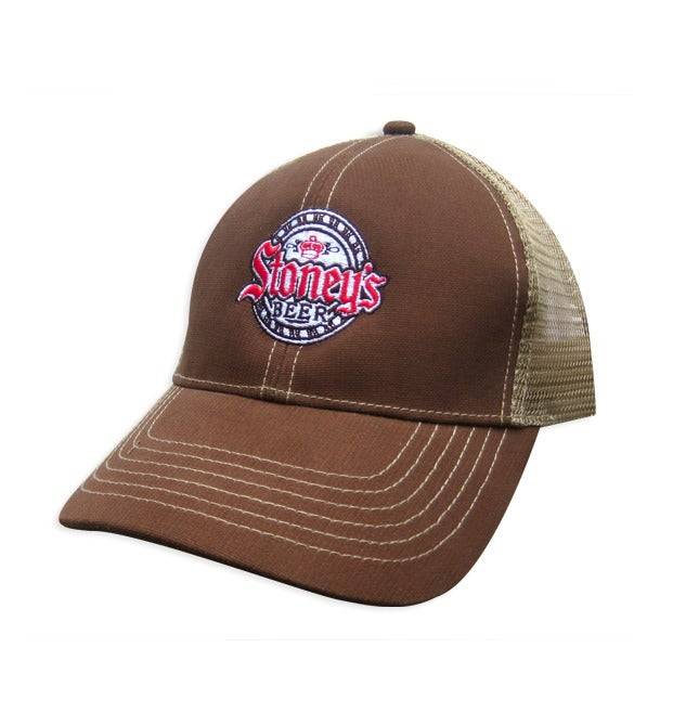 Image of Stoney's Brown & Khaki Mesh Hat