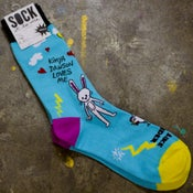 Image of Kimya Dawson Loves Me/Walk Like Thunder Socks