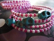 Image of Deadly Carnival Wrap Bracelets