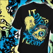 "Image of IT DIES TODAY ""TOOTHY"" T-SHIRT"