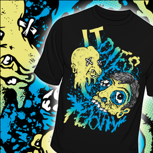 """Image of IT DIES TODAY """"TOOTHY"""" T-SHIRT"""