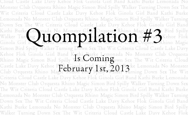 Image of Quompilation #3 Pre-Order