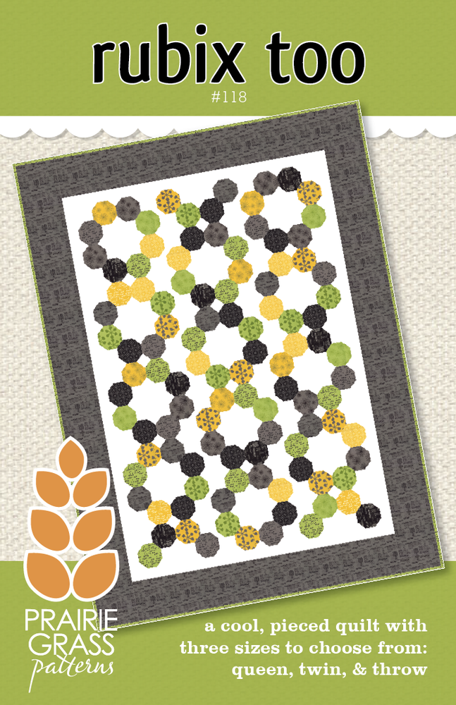 Image of Rubix Too: Quilting Pattern #118
