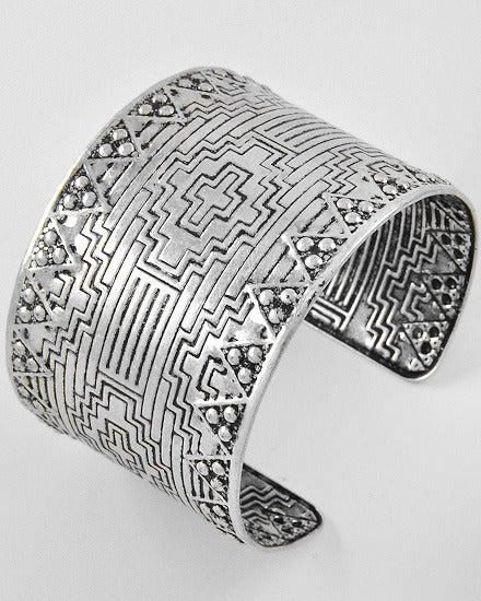 Image of Aztec Print Cuff
