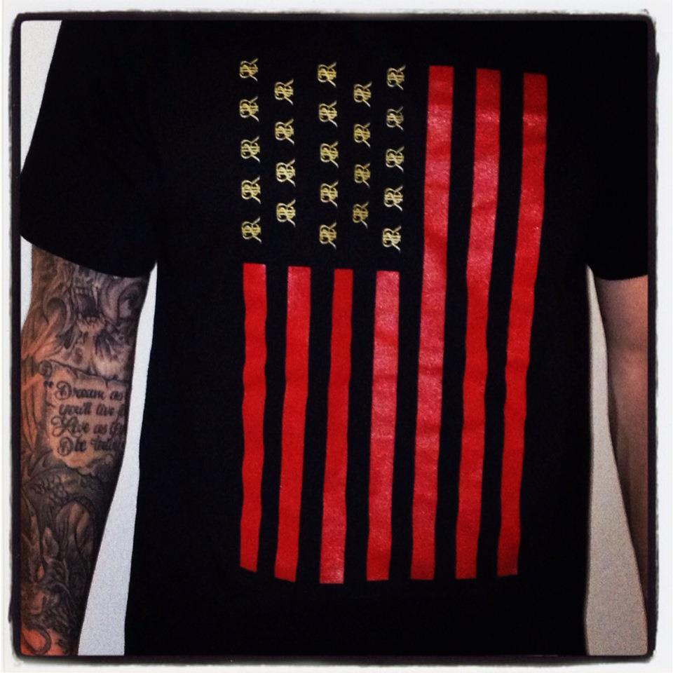 Image of Reckless American (Red & Gold)
