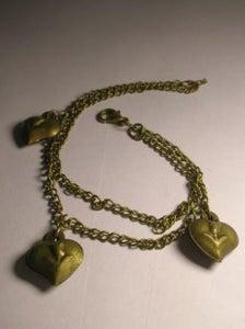 Image of Trio heart bracelet