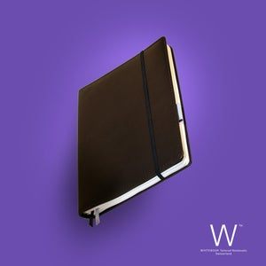 Image of Whitebook Premium P005w, nappa leather, brown, welt-sewn, 240p. (fits iPad / Air / Mini / Samsung)