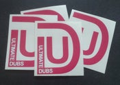 Image of Ultimate Dubs - UD Logo - Pink - Sticker