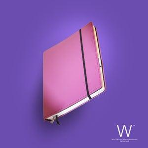 Image of Whitebook Premium P022w, nappa leather pink, welt-sewn, 240p. (fits iPad/Mini)