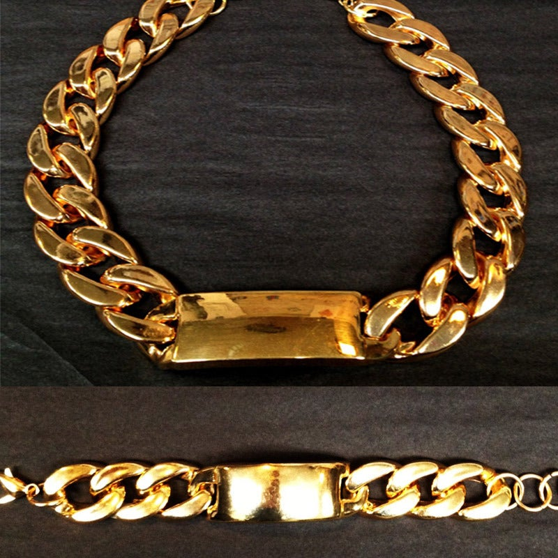 Image of I.Love I.D Cuban Link Set