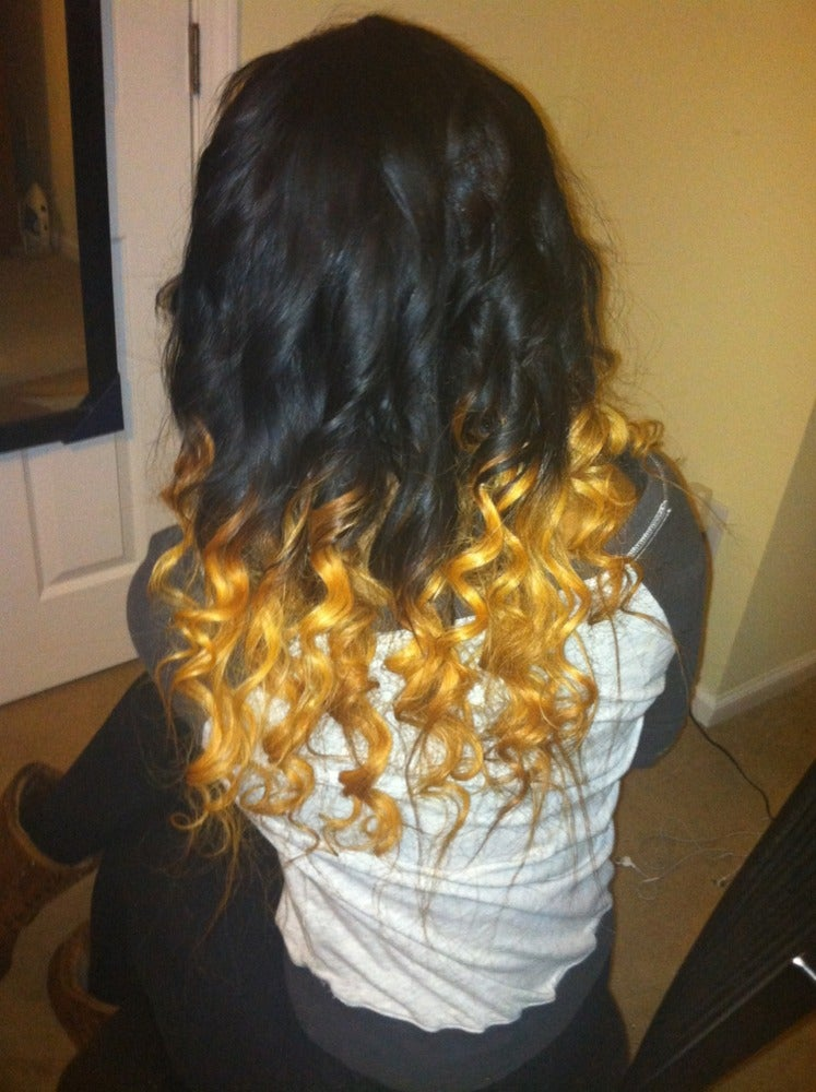 Image of Custom Ombre'/Colored