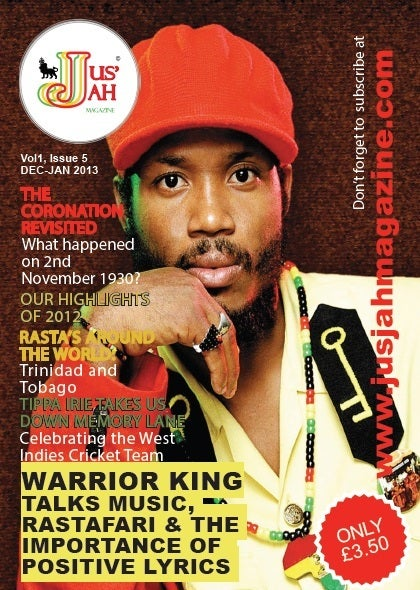 Image of Jus Jah Magazine Issue 5 (December-January 2013)