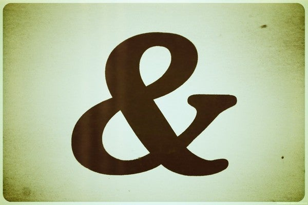 Image of Ampersand Postcards