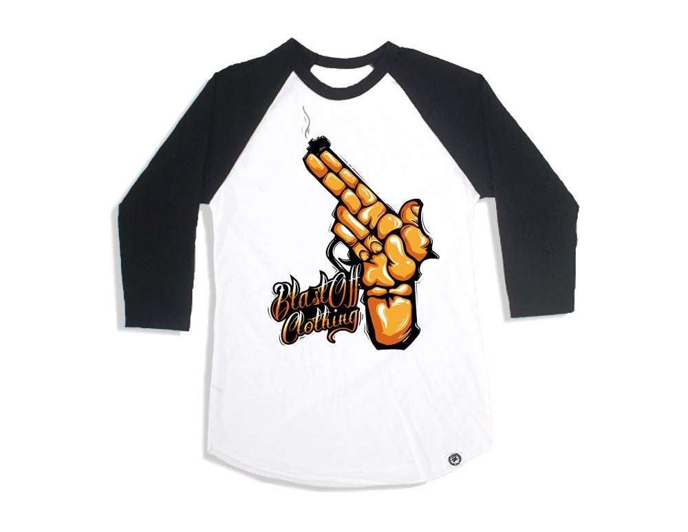 Image of Blasted Baseball Tee