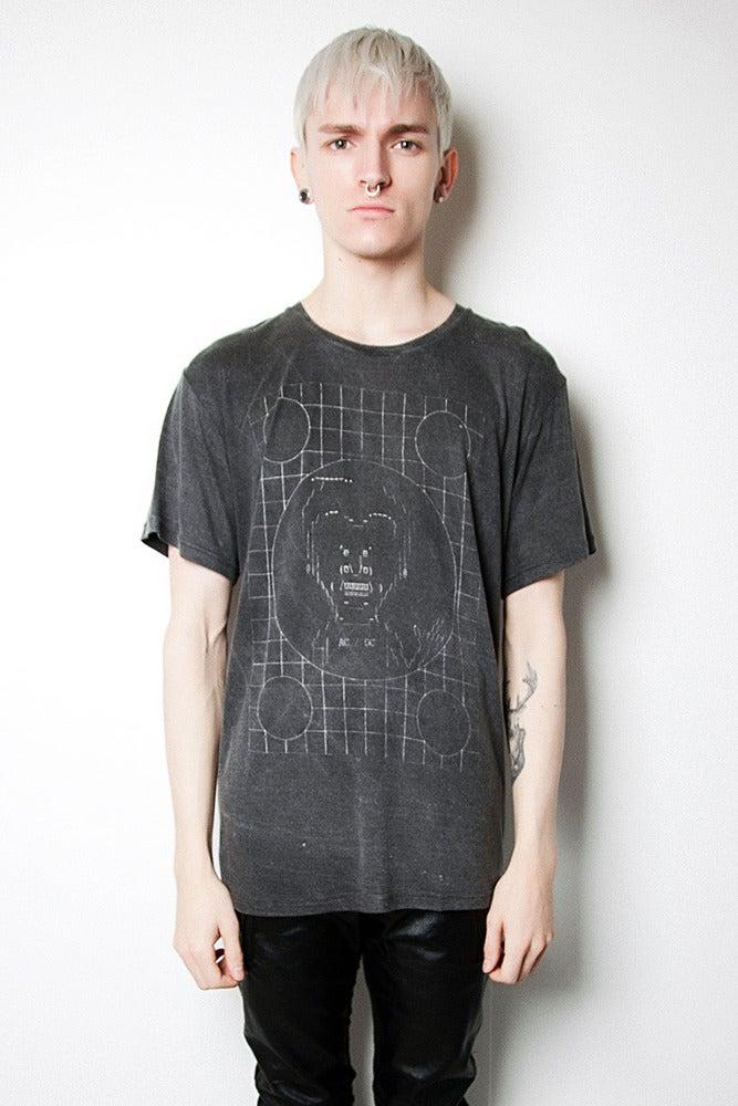 Image of Rayon Oversised Fit ASCII Beavis Tee