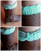 Image of Made To Order: Scalloped Boot Cuff