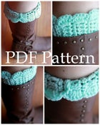 Image of Scalloped Boot Cuff Pattern