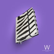 Image of Whitebook Collection A013, calf fur, Zebra, 240p. (fits iPad / Air / Mini / Samsung)
