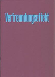 Image of Verfreundungseffekt Vol. 1