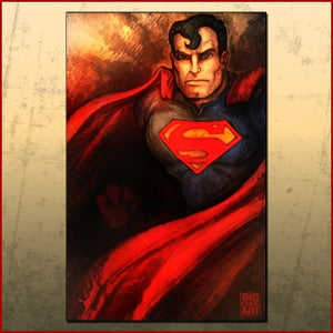 Image of Superman Print