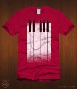 Image of Adora Piano Keys T-Shirt