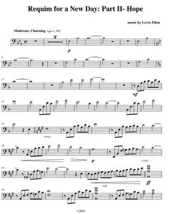 Image of Requiem For a New Day: Hope, for piano and cello
