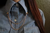 Image of Gold Collar Chain (Women's)