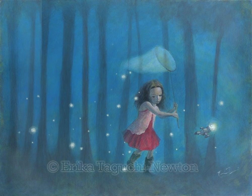 Image of Catching Fireflies
