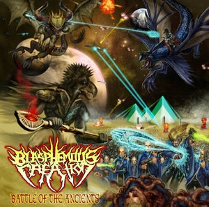 Image of Blasphemous Creation - Battle Of The Ancients CD + Free Diabolical Kingdom CD!