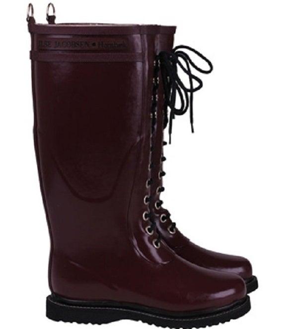 Image of  Ilse Jacobsen Rubber Boots - Tall, Rubino