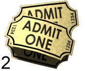 Image of 2 Event Tickets